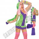 4pc Dino Doll Dinosaur Deluxe Costume - Large