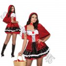 2pc Storybook Red Little Red Riding Hood Costume - Medium