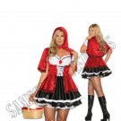 2pc Storybook Red Little Red Riding Hood Costume - 1X/2X