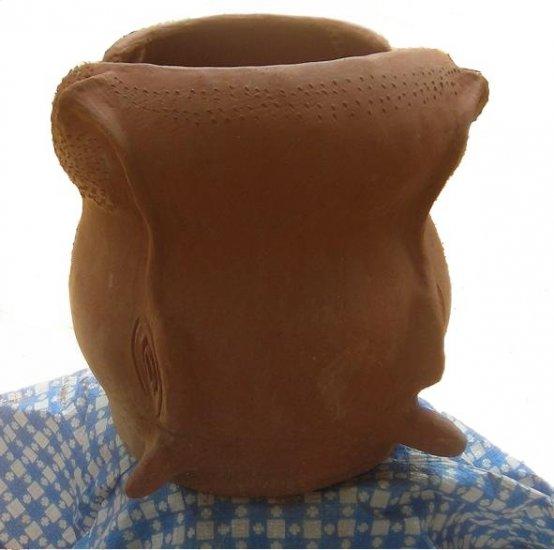 hippo sculpture pot