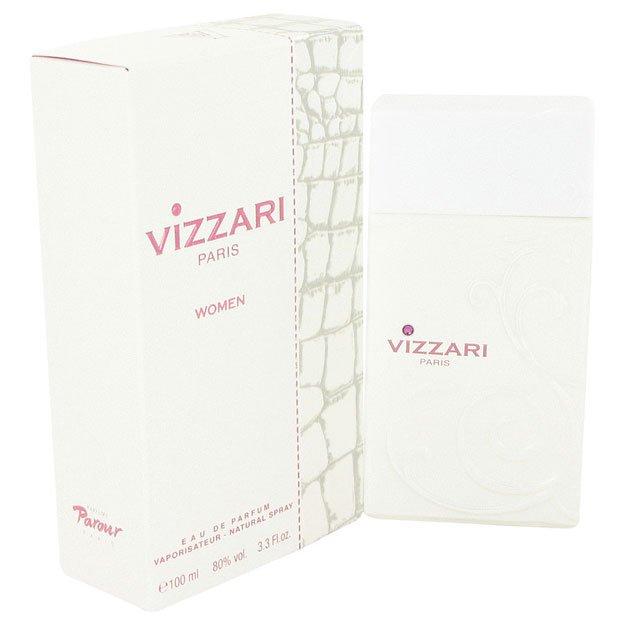 VIZZARI WHITE 3.3 OZ EAU DE PARFUM SPRAY BY ROBERTO VIZZARI FOR WOMEN