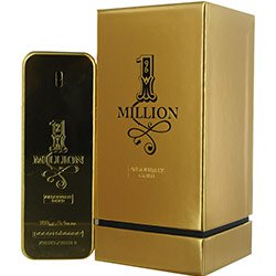 1 MILLION ABSOLUTELY GOLD PURE PARFUM SPRAY 3.3 OZ BY PACO RABANNE