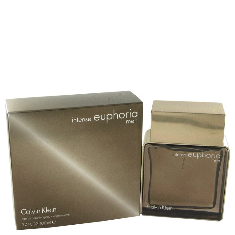 Euphoria Intense 3.4 oz Eau De Toilette Spray by Calvin Klein