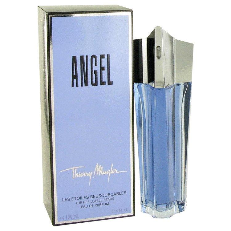 Angel 3.3 oz Eau De Parfum Spray Refillable by Thierry Mugler