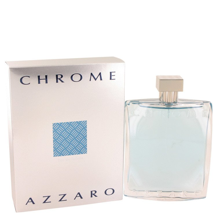 Chrome Cologne for Men by Loris Azzarl (6.8 oz Eau De Toilette Spray)