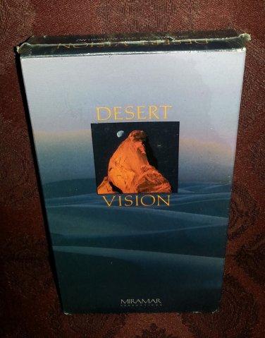 Brand New DESERT VISION JAN NICKMAN,PAUL SPEER AND DAVID LANZ VHS TAPE never ope