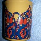 Vintage Staffordshire Mug Cup Ironstone Potteries LTD Yellow Model S.1175England