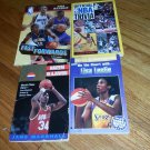 4 books Official NBA Trivia, Fast Forwards,Lisa Leslie,Going For Gold Hakem Olaj