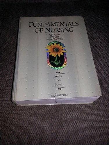 Fundamentals of Nursing by Barbara Kozier (1991, Hardcover)