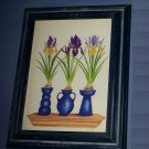 Vintage1996 Bentley House By Bambi Artist Painter Wall Art Pictures Frame Flower