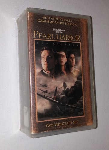 Pearl Harbor (VHS, 2001, 2-Tape Set, Pan & Scan; 60th Anniversary...