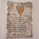 Hand Painted Canvas Wall Art by Rhonda Kullberg-Mother