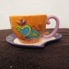 Bella Casa Teacup and saucer by Ganz