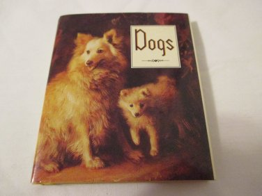 Ariel Books Andrew and McMeel Dogs miniature book 1992