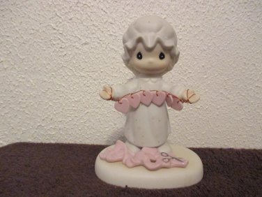 Precious Moments You Have Touched So many Hearts figurine 1983