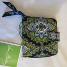 Vera Bradley Cambridge Mini Zip Wallet Retired