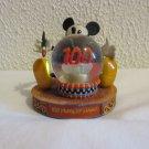 Mickey Mouse 100 Years of Magic mini snowglobe figurine