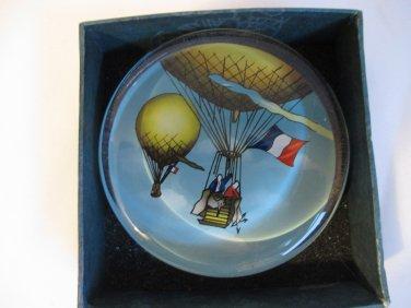 Vintage Air Balloon Paperweight