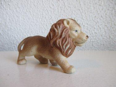 Vintage bisque lion figurine