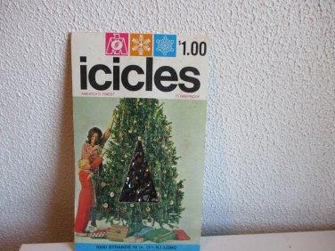 Marathon Franke Vintage flameproof icicles 1000 strands
