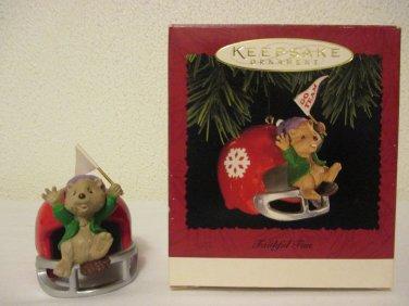 Hallmark Faithful Fan keepsake ornament