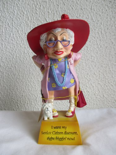 Biddy's I Want My Senior Citizen Discount figurine