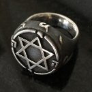 King Solomon Star of David Ring Protection Magic Powerful Jewelry .925 Sterling Silver