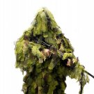 New M/L Woodland Ultimate Game 3D Camo Cut Hunting Forest Ghillie Suit 5 Piece