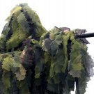 New XL/XXL Woodland Ultimate Game 3D Camo Cut Hunting Forest Ghillie Suit 5 Piece