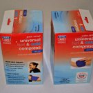 Lot of 2 Rite Aid Pain Relief Universal Hot & Cold Deluxe Compress