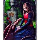 """ANN STOKES Secret Garden Art Tile 4""""x8"""" 99020 BY ACK"""