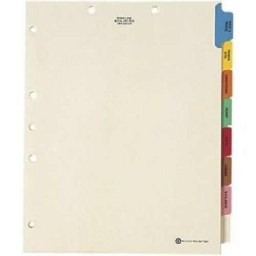 Medical Arts Press® End-Tab Folders with Full-Corner Pockets; Manila, 50/Box