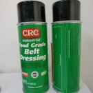 Lot of 2 CRC Food Grade Belt Dressing, Mineral Oil Base, 10oz Net, 2 Aerosol Can