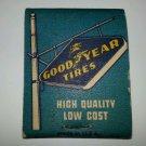 Frontstrike matchbook Goodyear Hawaii Unstruck Matchcover unused rare Vintage