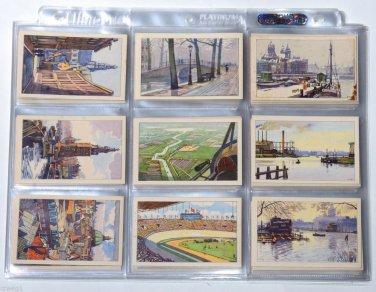 96 Cards SET DUTCH Hilles Beschuiten Ontbijtkoek Holland Netherlands Advertising