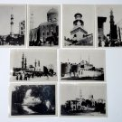 8 OLD EGYPT Egyptian PHOTOGRAPHs Lot B&W Photos Mosque Architecture City CAIRO