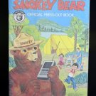 Vintage 1979 Smokey Bear Press-Out Book Sealed Wrapped Unused