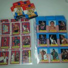 1987 Topps WWF cards 75 card Set stickers Wrestlemania III 3 Andre the Giant