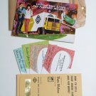 United Van Lines Booklet Brochure 1967 HTF moving book Vintage Fragile stickers