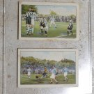 Lot 1932 & 33 DUTCH FOOTBALL 2 cards The VITTORIA EGYPTIAN Cigarette Co. Tobacco