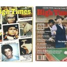 2 - 1978 HIGH TIMES MAGAZINES May '78 & June '78 Sinatra Rat Pack Ali Lou Warhol