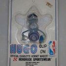 Hugo Clip On Charlotte Hornet Mascot NBA Basketball 1989 Hendrick NOS NEW MOC
