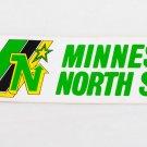 NHL North Stars Vintage Unused Hockey Bumper Sticker by WINCRAFT Dallas DECAL