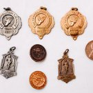 1949 San Diego Metropolitan League High School Track Relays 1st Award Pendants
