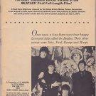 1964 Beatles 16 Magazine 16's Beatle Movie Book