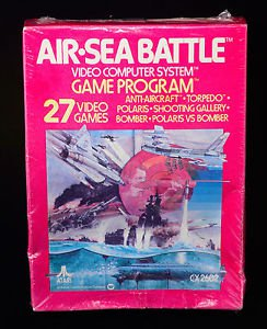 ATARI Air-Sea Battle (Atari 2600, 1977) NIB New In Box NIP Factory sealed! NOS