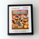 Mario Bros. Video Game Cartridge for Atari 2600 VCS 1983 Orange label Nintendo