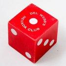 Vintage Del Webb's Nevada Club LARGE DIE Reno / Las Vegas / One Dice RARE