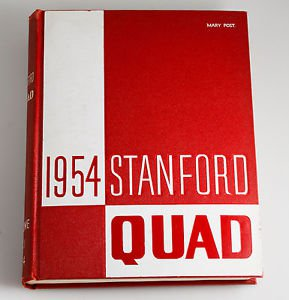 1954 Stanford California Quad Yearbook Book Football Pictures USC UCLA CAL