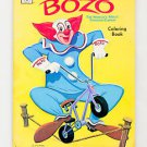 1971 BOZO the clown coloring book Larry Harmon's TV Whitman 1033 50 pages Unused